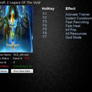 STARCRAFT 2 LEGACY OF THE VOID – TRAINER